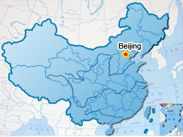 Map of 5 Days Family Beijing Tour