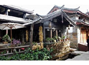 Naxi folk houses