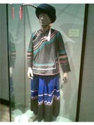 The attire of the Miao People