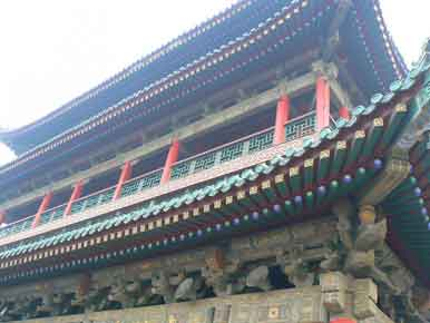 Xian Bell Tower Close View