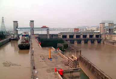 China Gezhou Dam Project Tour