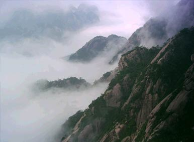 Clouds of Sea in Mt.Huangshan