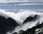 Sea of clouds on Mt.Huangshan
