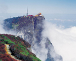 Emei Mountain in Sichuan