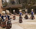 Mao minority dance in Yunnan