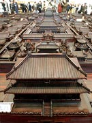 Model Panorama of Forbidden City
