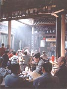Teahouse life in Chengdu
